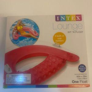 Intex Pink Lounge Raft